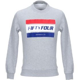 《セール開催中》FIFTY FOUR メンズ スウェットシャツ グレー L コットン 100%