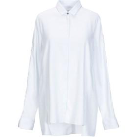 《送料無料》CHARLI レディース シャツ ホワイト 8 コットン 100%