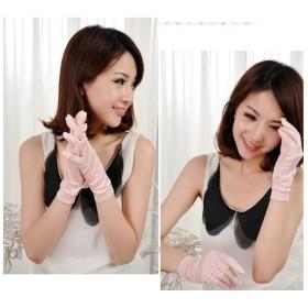 紫外線防止、手湿疹や手荒れに最適なシルク手袋。シルク100%手袋♪日除けテブクロ/