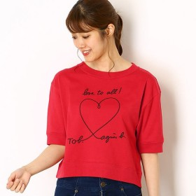 [マルイ]【セール】WM40 TS メッセージTシャツ/トゥービーバイアニエスベー(To b. by agnes b.)