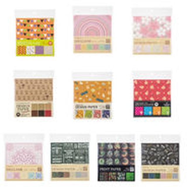 【アウトレット】協和紙工 折り紙 デザインペーパー 1セット(10パック:1パック×10種)
