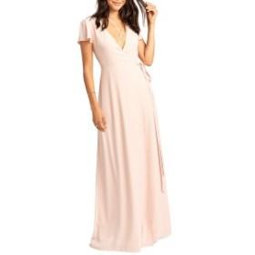 ウミーユアムーム レディース ワンピース トップス Show Me Your Mumu Noelle Wrap Dress Dusty Blush
