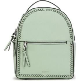 カルパック レディース バックパック・リュックサック バッグ CALPAK Kaya Faux Leather Round Backpack Mint