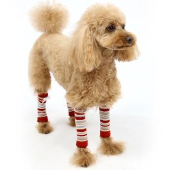 【オンワード】 PET PARADISE(ペットパラダイス) ペットパラダイス レッグウォーマー(赤)[小型犬] 赤 3S
