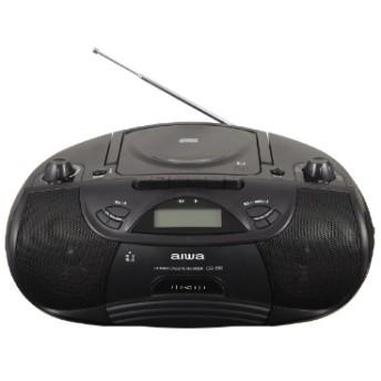 Bluetooth CDラジカセットレコーダー CSD-B50B ブラック