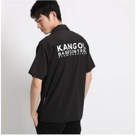 【ベース ステーション/BASE STATION】 KANGOL カンゴール オープンカラーシャツ 開襟シャツ