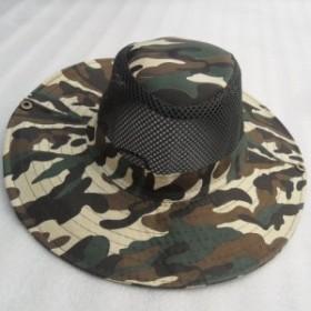 バケットハット迷彩 帽子 サファリハット UPF50+ UVカット ひも付き つば広 折りたたみ ひも付き 釣り 登山 キャップ アウトドア トレ