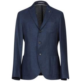 《期間限定セール開催中!》PAOLONI メンズ テーラードジャケット ブルー 50 麻 60% / コットン 40%