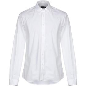 《期間限定 セール開催中》VICTOR COOL メンズ シャツ ホワイト M コットン 97% / ポリウレタン 3%