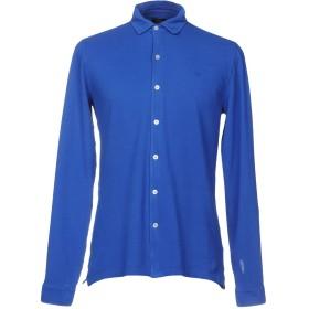 《期間限定セール開催中!》LIU JO MAN メンズ シャツ ブルー 41 コットン 94% / ポリウレタン 6%