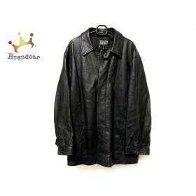 ダナキャラン DKNY コート サイズM メンズ 黒 レザー/冬物 新着 20190613