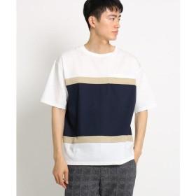 THE SHOP TK / ザ ショップ ティーケー バイカラービッグシルエットTシャツ