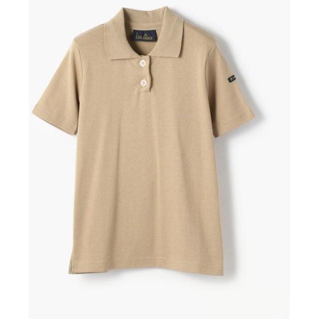 トゥモローランド Le minor コットン ポロシャツ レディース 43ベージュ F 【TOMORROWLAND】