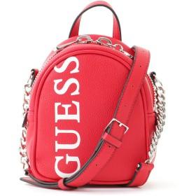 ゲス GUESS URBAN CHIC LOGO MINI CROSSBODY BAG (RED)