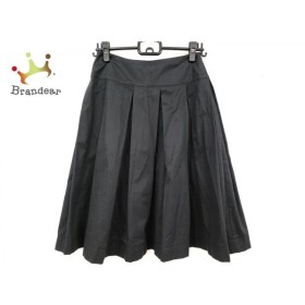 レキップ ヨシエイナバ L'EQUIPE YOSHIE INABA スカート サイズ7 S レディース 美品 黒   スペシャル特価 20190916