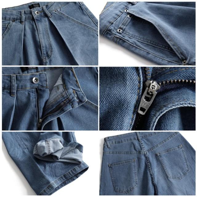 560d3021f36f7 パンツ全般 - ZIP CLOTHING STORE ジーンズ メンズ デニムパンツ ジーパン ワイドパンツ ストレッチ 無地 ズボン