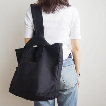 CLOUCHY SHOULDER BAG(オールブラック)