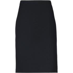 《送料無料》EMPORIO ARMANI レディース 7分丈スカート ダークブルー 48 ウール 100%