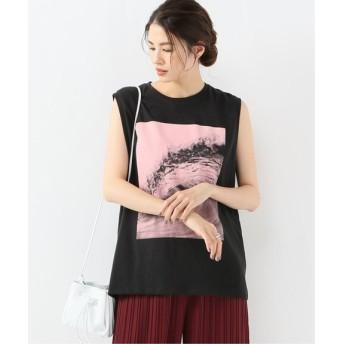 JOURNAL STANDARD L'ESSAGE 【6397/シックススリーナインセブン】LESSAGE WAVE N/S TEE:Tシャツ◆ ブラック M