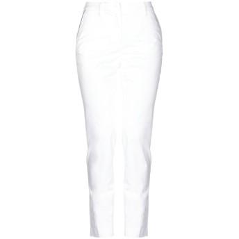 《セール開催中》MASON'S レディース パンツ ホワイト 42 コットン 97% / ポリウレタン 3%