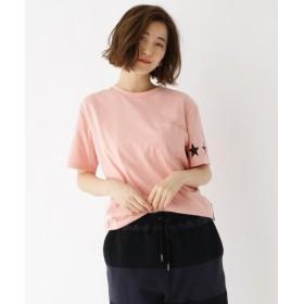 ベースステーション スターライン Tシャツ14505 レディース ピンク(072) 02(M) 【BASE STATION】