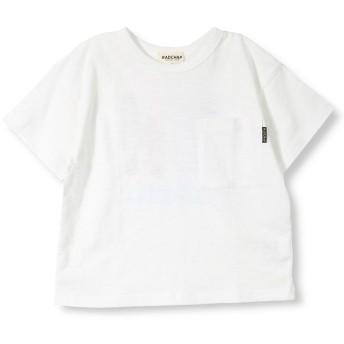 【25%OFF】 ブランシェス バックプリント半袖Tシャツ(90~140cm) レディース オフホワイト 110cm 【branshes】 【セール開催中】