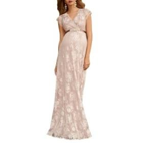ティファニーローズ レディース ワンピース トップス Tiffany Rose Eden Lace Maternity Gown Blush