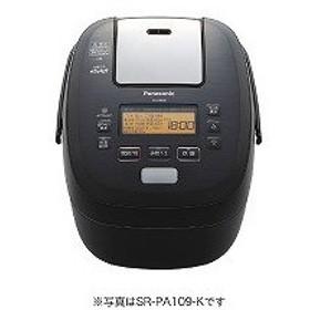 パナソニック 炊飯器 可変圧力IHおどり炊き SR−PA189−K ブラック