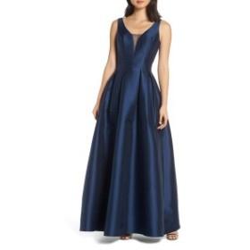 チチロンドン レディース ワンピース トップス Chi Chi London Perla Back Cutout Evening Dress Navy