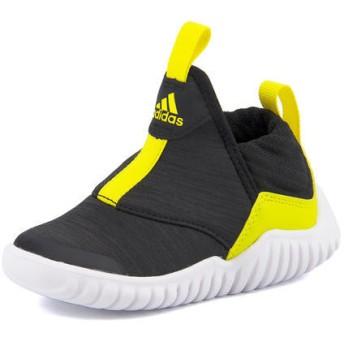 キッズ SALE!adidas(アディダス) EASY FLEX I(イージーフレックスI) AH2536 コアブラック/ショックイエロー/ランニングホワイトSN スニーカー ファースト/ベビー