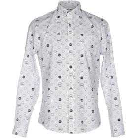 《期間限定セール開催中!》BEN SHERMAN メンズ シャツ ホワイト L コットン 100%