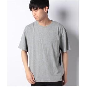 koe 脇切り替え配色Tシャツ(杢グレー)【返品不可商品】