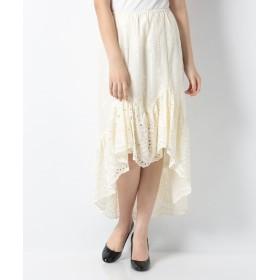 【74%OFF】 アナスイ WILD JASMINE スカート レディース アイボリー S 【ANNA SUI】 【セール開催中】