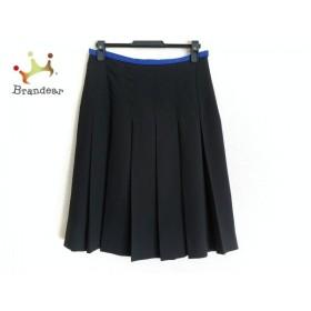 ソニアリキエル SONIARYKIEL スカート サイズ40 M レディース 黒×ブルー   スペシャル特価 20190925