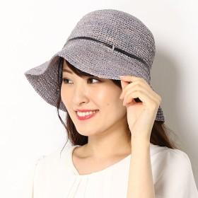 [マルイ] 【サイズ調整可・UV対策】ラフィアアミクロッシェ(レディース/帽子/雑貨)/ZAZA