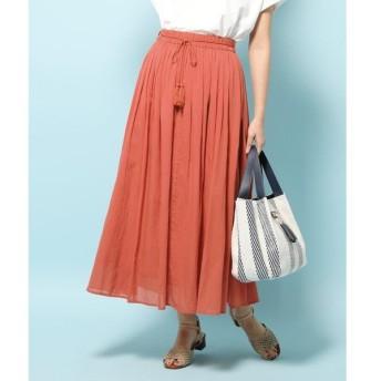SHOO・LA・RUE / シューラルー 【WEB限定サイズあり】インド綿ボリュームマキシスカート