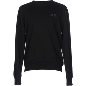 《期間限定セール開催中!》SUN 68 メンズ スウェットシャツ ブラック XXL コットン 100%