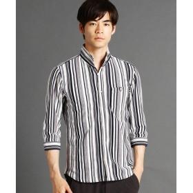 ニコルクラブフォーメン ストライプ柄カットソーシャツ メンズ 91その他2 52(3L) 【NICOLE CLUB FOR MEN】