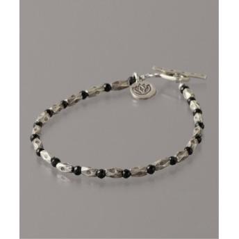 BOICE FROM BAYCREW'S slow hands Rhombus beads bracelet Small シルバー フリー
