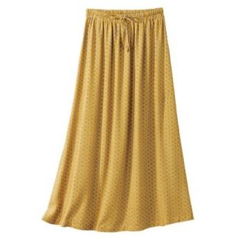 【大きいサイズ】 レーヨン100%うすカル柔らかミディー丈スカート スカート, plus size skirts