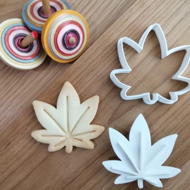 日本☆モミジ クッキーカッター/クッキー型