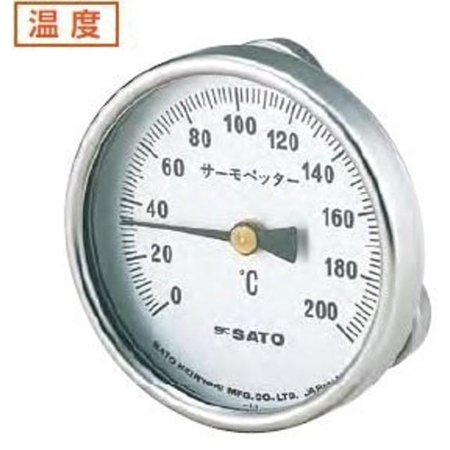 バイメタル温度計 サーモペッター 400 /1-600-02