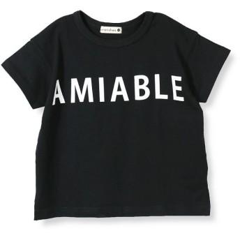 【25%OFF】 ブランシェス ロゴ半袖Tシャツ(90~150cm) レディース ブラック 100cm 【branshes】 【セール開催中】
