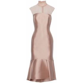 《セール開催中》SACHIN & BABI レディース 7分丈ワンピース・ドレス ピンク 8 ポリエステル 81% / ナイロン 14% / ポリウレタン 5%