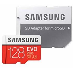 128GB microSDXCカード マイクロSD Samsung サムスン EVO Plus Class10 UHS-I U3 R:100MB/s W:90MB/s SDアダプター付 海外リテール MB-MC128GA/CN ◆メ