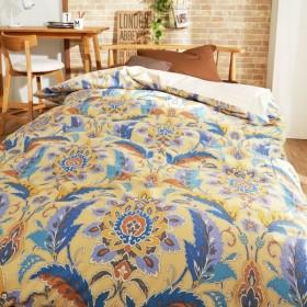 布団カバー 掛け布団カバー 発色が美しい北欧調の綿100%掛け布団カバー(ウルズ) 「ブルー」