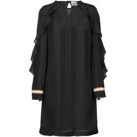 《セール開催中》ALYSI レディース ミニワンピース&ドレス ブラック 42 レーヨン 67% / シルク 33%