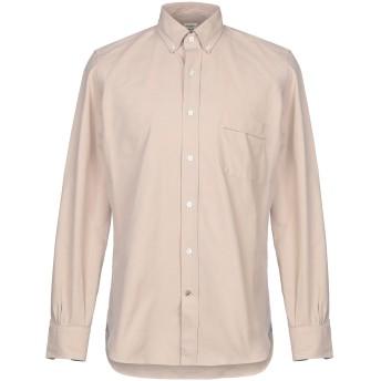 《セール開催中》MAZZARELLI メンズ シャツ ベージュ 39 コットン 100%
