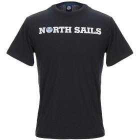 《期間限定セール開催中!》NORTH SAILS メンズ T シャツ ブラック S コットン 100%