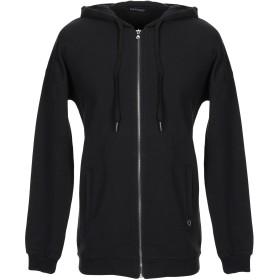 《期間限定セール開催中!》MANGANO メンズ スウェットシャツ ブラック S コットン 100%
